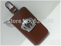 Automotive crown leather key bag JP DAD crown car key bag Set auger crown key package remote key bag free shipping