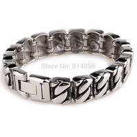 men titanium steel bracelet titanium steel exquisite personalized retro glossy titanium steel bracelet send boyfriend a gift