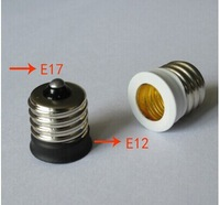 E17 TO E12 adapter Conversion socket High quality material fireproof material E12 socket adapter Lamp holder