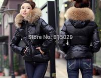 New 2014 Fashion Parkas Winter Female Down Jacket Women Clothing Winter Coat Color Overcoat Women Jacket Parka Free shipping