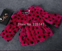 Fashion Winter coat women Rex Rabbit Fur coat diamond three quarter Sleeve real fur coats for women wholesale