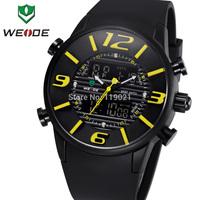2014 Wade unique design fashion men's sports watch men Shiying Jun District Army divers PU strap watch, 12 month warranty