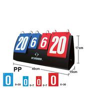 1pc Portable Scoreboard for Volleyball Basketball Table tennis Scoreboard, Free Shipping