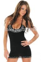 vestido de renda real autumn -summer Halter Mini Dress Free Shipping Cost Fast Delivery clearance sale