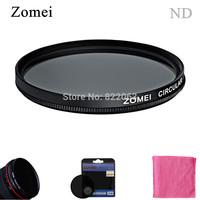 Free Shipping Professional Zomei 58mm CPL Filter Polarization Lens Light Transmittance Filtro  for Canon 600D Nikon SLR Camera