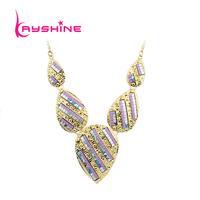 Fashion Jewelry Colar Fashion BVlack  Red  Purple  Necklace Women Wedding Accessories