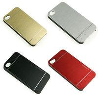 For  Iphone 6 4.7inch  2014 the new Luxury Brushed Aluminium Motomo INO METAL Hard Case high quality