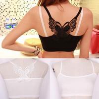 Hot Sale US New Sexy Women Lace Strap Sleeveless Shirt Vest Blouse Tank Crop Top Undershirt Drop Shipping WF-8394\br