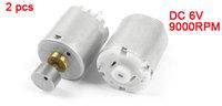DC 6V Rated Voltage 9000RPM Mini Vibrating Toy Vibration Motor 2PCS