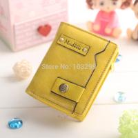 Korean new women short wallet PU lady wallet/purse