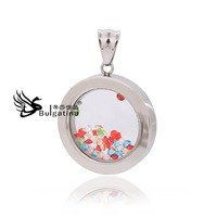 Free Shipping Circular Pendant  With High Quality Design Fashion Charm Floating Jewelry ,2014 Classic