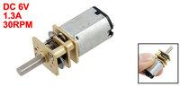 30 RPM DC 6V 2.5KG Micro Gear Box Speed Reducing Motor