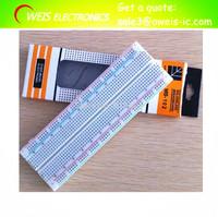 5pcs/lot  Breadboard 830 Point Solderless PCB Bread Board MB-102 MB102 Test Develop DIY Free shipping