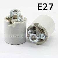 E27 Base Ceramic Lamp Holder Adapter Converter Screw Socket For LED Light Lamp Bulb