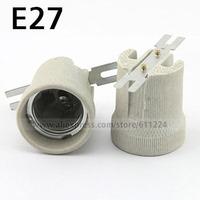 E27 Ceramic Base LED Light Lamp Bulb Adapter Converter