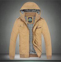 New Men's Jacket Top Brand High Collar Men's Dust Coat Hoodies Clothes sweater/overcoat/outwear