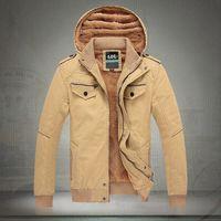 Classic mens jackets 100% cotton outwear men's coats casual fit style designer fashion jacket Men clothing 8 colors Size M~XXXL