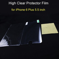 5000sets/lot, Completely fit New ultra high clear LCD screen Protective protector film for iPhone 6 plus 5.5 inch
