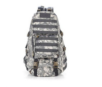 Camping bags,Waterproof Tactical backpack Military 3P Gym School Trekking Ripstop Woodland Tactical Bags Free DHL M0002