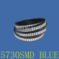500pcs/LOT 5730-WW 0.5W 50-55lm Blue Light SMD 5730 5630 LED chip lamps- (3.2~3.4V )