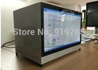 EKAA Transparent Advertising Box, 22inch Stand-alone transparent advertising display