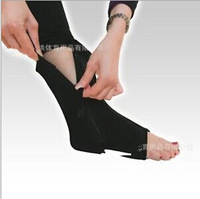 Free shipping  Foot care Ankle protection with zipper up compression support feet ankle care tool