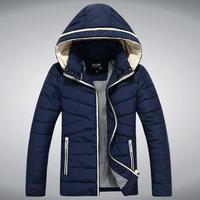 Leading Men's Fashion 2014 winter jacket coat male Korean large yards thick warm cotton youth