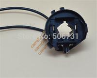 10pcs Auto headlight Golf 7 hid xenon headlight bulb holder adapters for VW/Tiguan/Golf 7/ Scirocco/Sharan/Touran free shipping