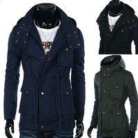 [On Sale] men Parka keep warm coat Men's coat Winter overcoat Outwear Winter jacket hooded thick fur jackets outdoor