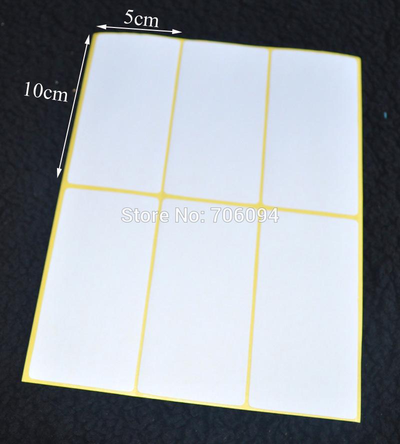 Blank Sticky Labels Sticky Printing Label