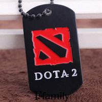 Packet mail! The new DOTA2 metal necklace DOTA2 pendant