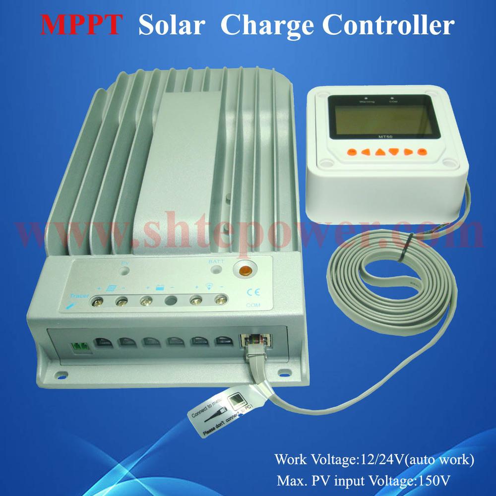 24v mppt solar charge control 40a Tracer 4215BN 12v/24v auto work max pv input 150v(China (Mainland))