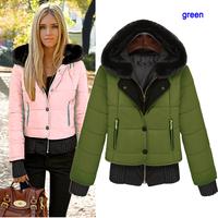 Hot Sale Faux Fur Collar Women's Winter Warm Short Fur Coat Jacket Clothes Wholesale YFZ56