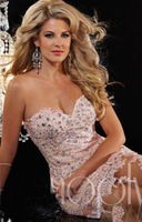 Custom Size Mermaid Evening Dresses Tulle Sweetheart Beaded Applique High Quality Sexy  New Lace Formal Prom Party  Gown