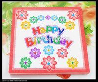 Food-grade Happy Birthday Paper Napkin Festive & Para Festas Tissue Napkins Decoupage Decoration Paper 33cm*33cm 1pack/lot