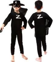 2014 New Kids Zorro Boy Halloween Party Cosplay Costume