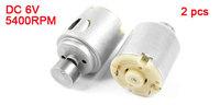 Electric Toy 5400RPM Output Speed DC 6V Vibration Motor 2 Pcs