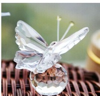 FREE SHIPPING+Choice Crystal Collection Precious Butterfly Baby Souvenir +100pcs/lot+Good For Baby Party Favors