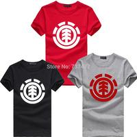 New Fashion Element T Shirts O Neck Short Sleeve Boy Cotton Men Shirt Wholesale Casual Man Tees Free Shipping Mens Tops