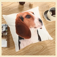 3D animal dog pillows Home Decor Back Cushion Cover high quality pillow case Christmas gift 40*40cm CF9314