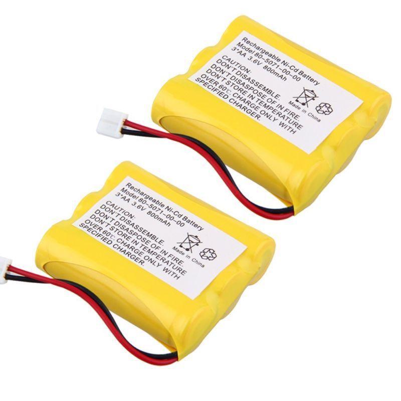 2X 3.6v 800mAh Phone Battery for Radio Shack 23-298 43-3505 ET-1110 ET-3506 New(China (Mainland))
