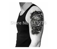 Hot Sale!!!!! New Arrival Waterproof Tattoo Sticker Mechanical arm tattoo (10pcs/lot),Wholesale,Free Shipping