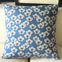 "PQ754 Simple Sakura Throw Pillow Case Cushion Cover Sofa Decor Square 18"" 45cm"