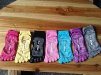2014 Autumn New Hot YOGA socks women five fingers socks gel sport women socks