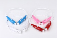 50 Pieces/lot Fashion style music bluetooth stereo Headset earphone neckband Hbs730 in ear headset for Mobile phone