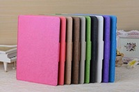 Luruxy Pure Color Business Style Messy Texture Leather Wallet  Case For Samsung Galaxy Tab S 8.4 T700/10.5 T800 Protect Skin