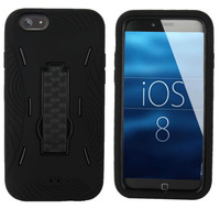 """Case foriphone 6 (4.7"""") Hard Back Cover Robot Protector with Supporter"""
