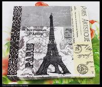 Food-grade Wedding Paper Napkins Eiffel Tower Decoupage Festive & Party Tissue Napkins Paper 33cm*33cm 1pack/lot