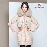 2014 Hot Winter Thicken Warm Women Down jacket Hooded Coats Parka Outerwear Cold Luxury Raccoon Fur collar Long Plus Size 3XXXL