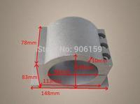 85mm spindle fixture, cast aluminum spindle fixture for spindle motor, 85mm spindle chuck, spindle motor bracket for CNC Router
